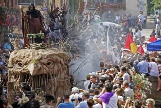Marchés de Noël et fête médiévale à Ribeauvillé