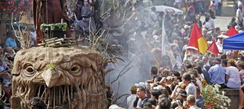 Marché de Noël et fête médiévale à Ribeauvillé